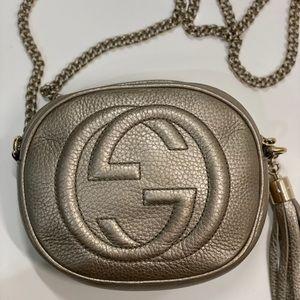Gucci Bags - Gucci / Soho Nubuck Leather Mini Chain Bag
